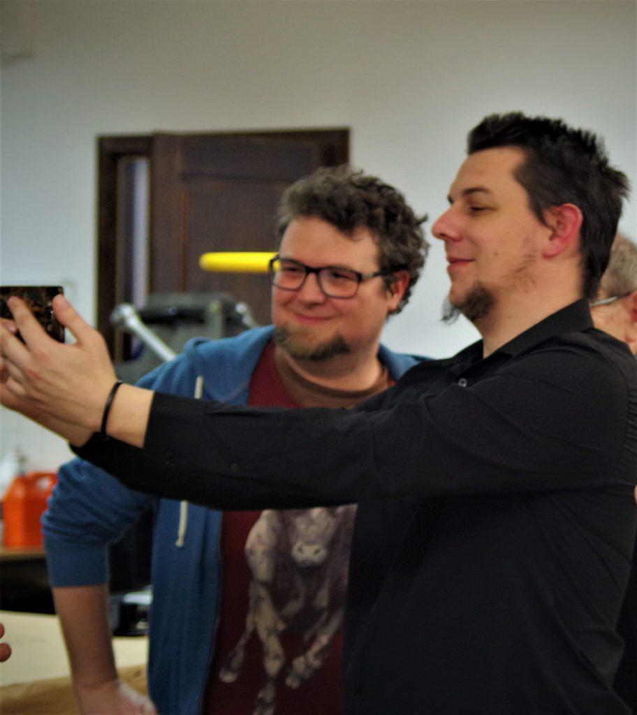 RedNacz strzela sobie selfie z Tomkiem Fijałkowskim